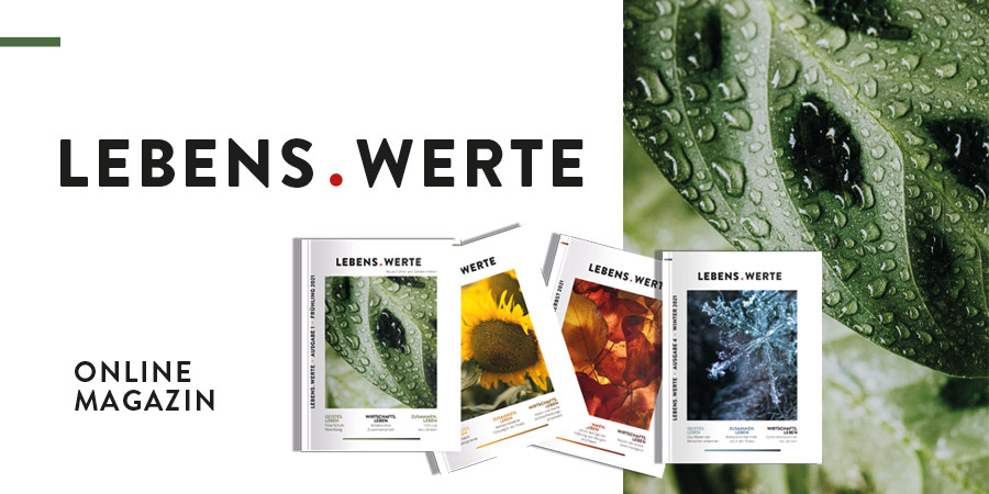 LEBENS.WERTE Magazin